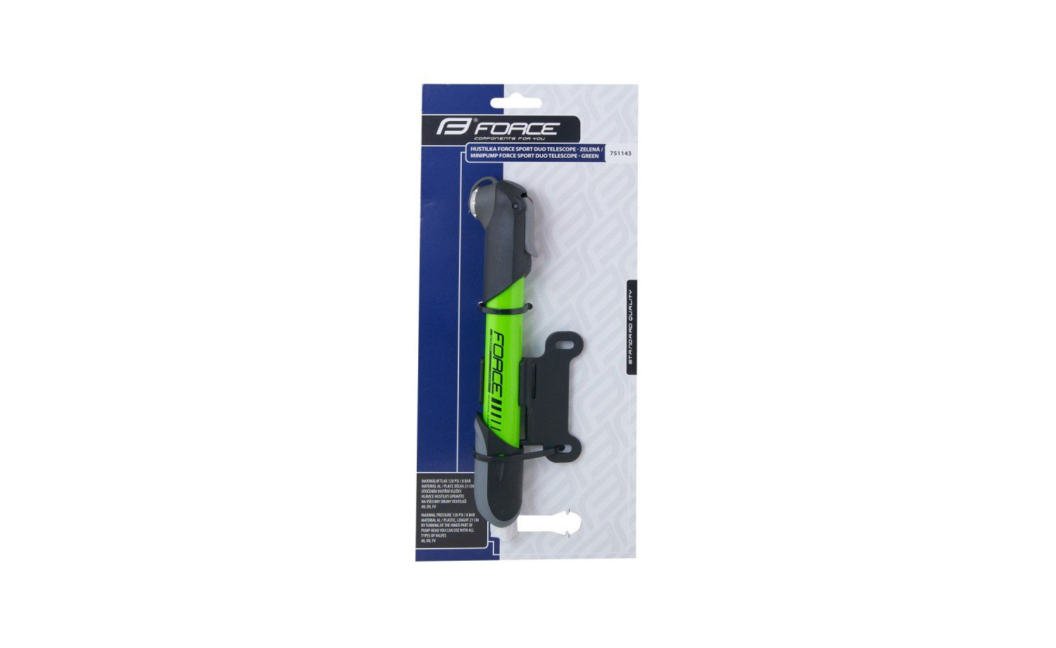Pump FORCE SPORT DUO TELESCOPE