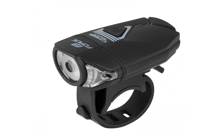 Front light FORCE CASS 300lm USB black
