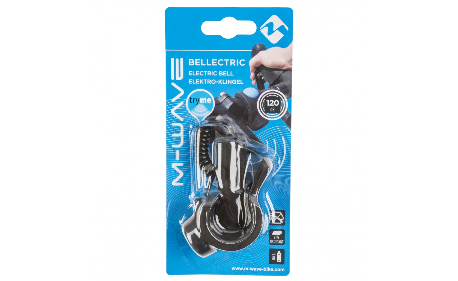 M-WAVE Bellectric electro bicycle bell