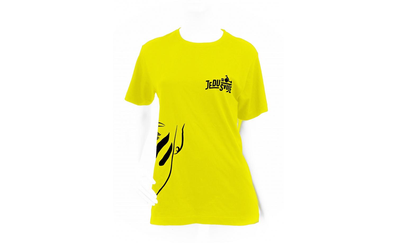 T-shirt KOSTKA Jedu si svoje WOMEN