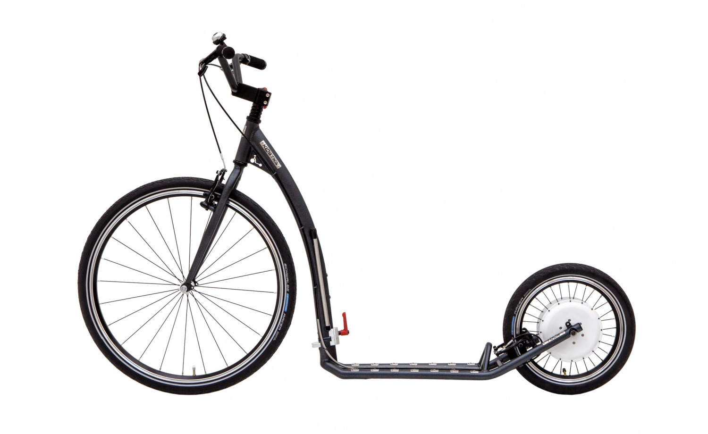 Foldable e-footbike KOSTKA e-TOUR MAX FOLD (E1)