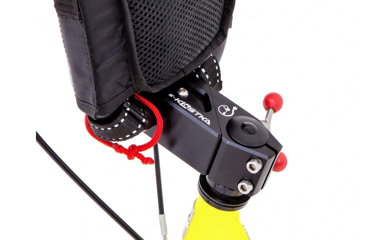 Foldable e-footbike KOSTKA e-REBEL MAX FOLD (E1)