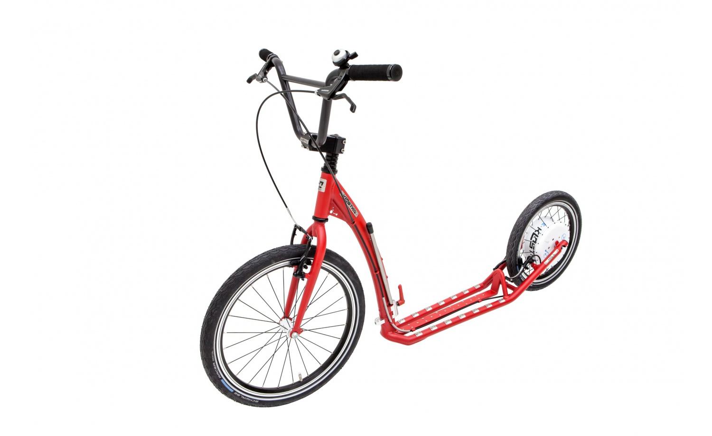 Foldable e-footbike KOSTKA e-HILL MAX FOLD (E1)