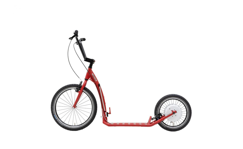 Foldable e-footbike KOSTKA e-HILL MAX FOLD (E2)