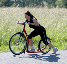 Footbiking is completely new movement alternative for all age and target groups